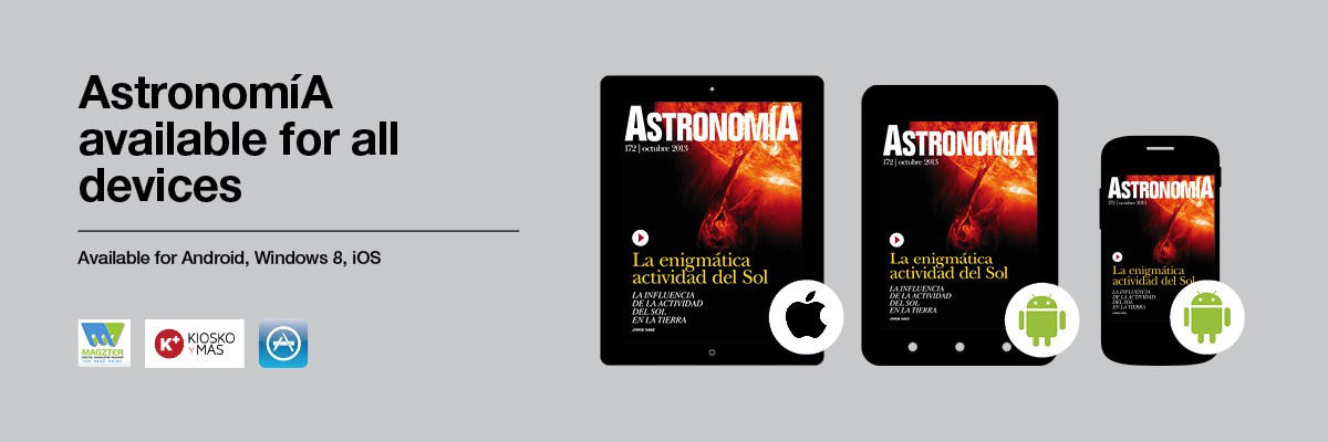 AstronomíA Magazine is now available for all your devices